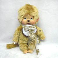 Monchhichi 40th Anniversary 20cm MCC Gold Boy 257380
