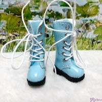 1/6 Bjd Neo B Doll Shoes PU Leather Long Boots Blue LYS026BLE