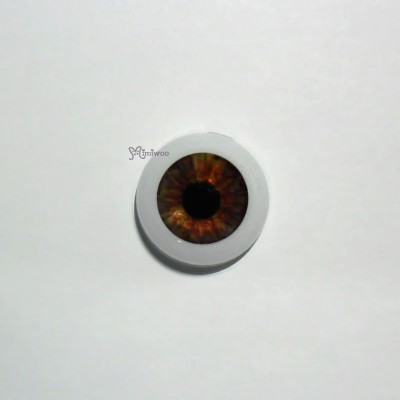 Acrylic Eye 14mm Dark Brown GF14SC10