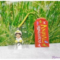 Monchhichi 3cm Mini Mascot Animal Phone Strap Keychain Duck 237170