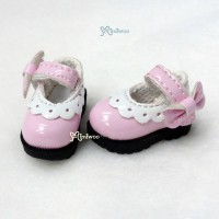 3.3cm Mary Jane Strap Shoes Pink SHP112PNK
