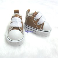 1/6 Bjd Neo B Doll PU Leather MICRO Shoes Sneaker Brown SHP125LBN