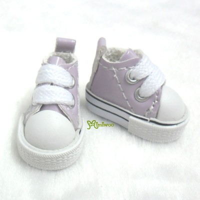 1/6 Bjd Neo B Doll PU Leather MICRO Shoes Sneaker Purple SHP125PUE