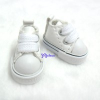 1/6 Bjd Neo B Doll PU Leather MICRO Shoes Sneaker White SHP125WHE