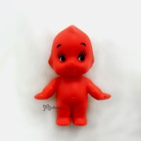 WSB003RED Kewpie Standing Baby 5cm Tall Mini Figure Red