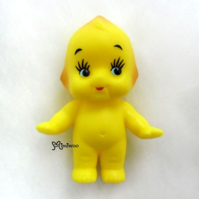 WSB003YEW Kewpie Standing Baby 5cm Tall Mini Figure Yellow