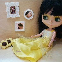 1/6 Bjd Miniature Mini Resin Photo Frame YC0065